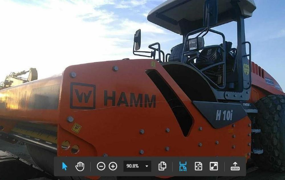 Detail photo of 2017 Hamm H10I from Construction Equipment Guide