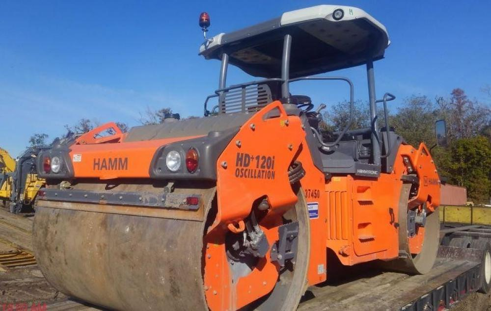 Detail photo of 2016 Hamm HD+ 120IV from Construction Equipment Guide