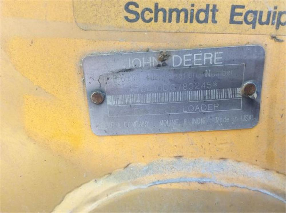Detail photo of 1991 John Deere 410D from Construction Equipment Guide