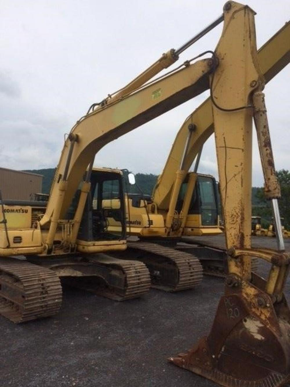 Detail photo of 1995 Komatsu PC120LC-6 from Construction Equipment Guide