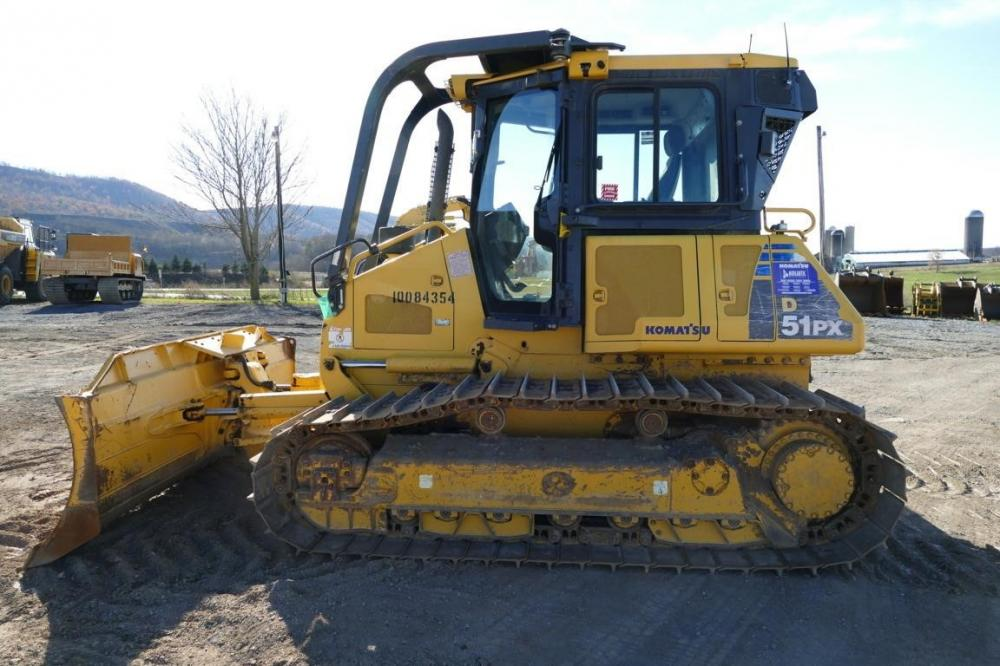 Detail photo of 2011 Komatsu D51PX-22 from Construction Equipment Guide