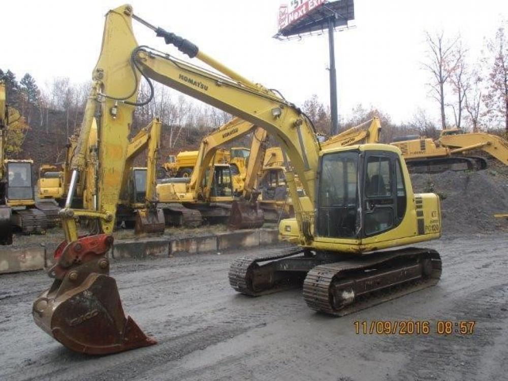 Detail photo of 1996 Komatsu PC120LC-6 from Construction Equipment Guide