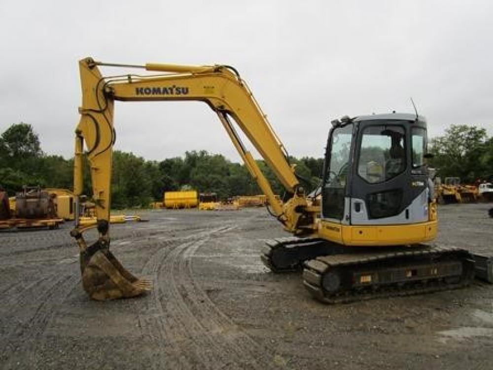 Detail photo of 2006 Komatsu PC78MR-6 from Construction Equipment Guide