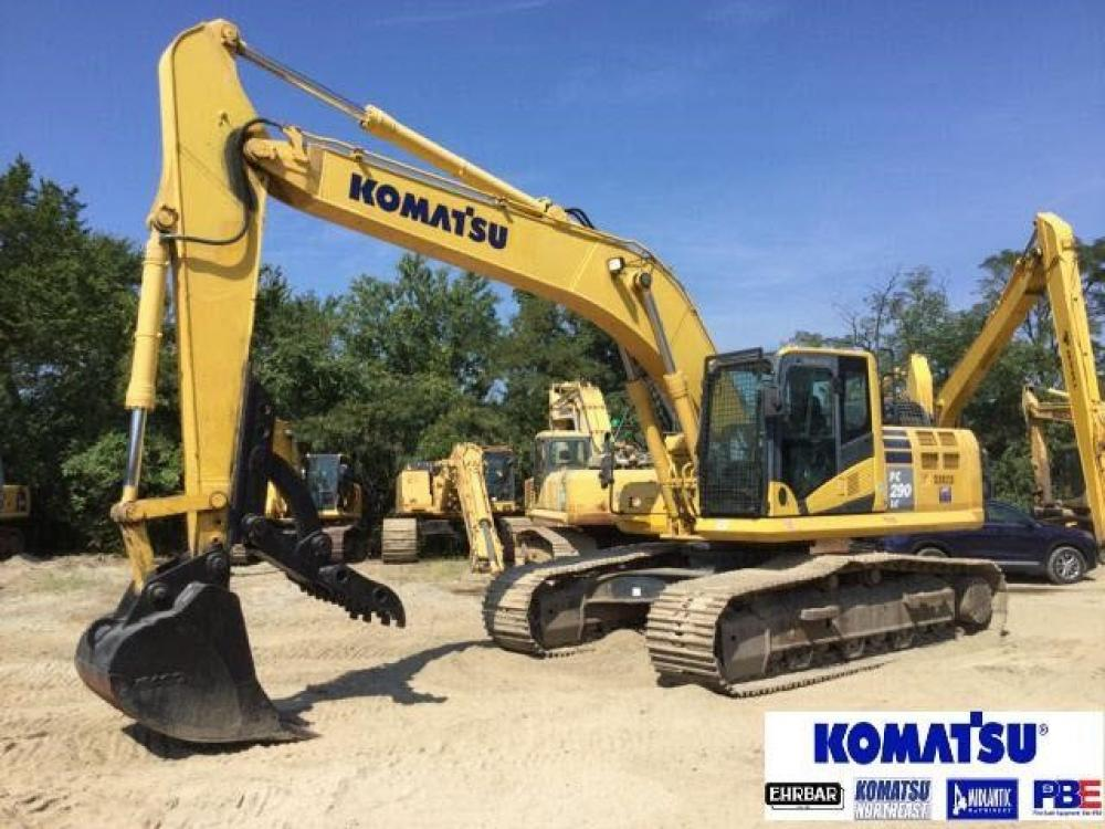 Detail photo of 2017 Komatsu PC290LC-10 from Construction Equipment Guide