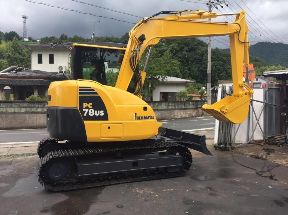 Detail photo of 2012 Komatsu PC78US-8 from Construction Equipment Guide