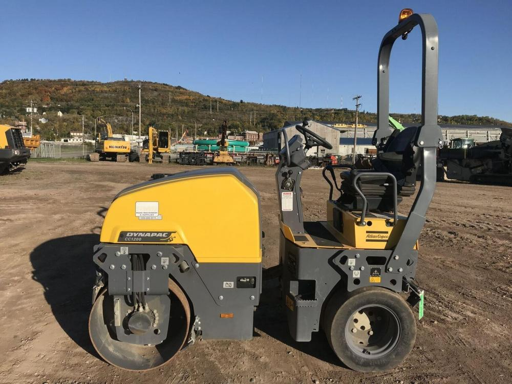 Detail photo of 2015 Dynapac CC1200 from Construction Equipment Guide