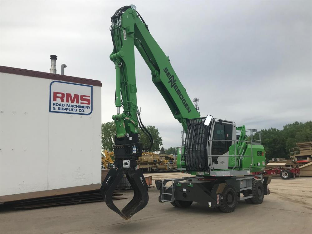 Detail photo of 2018 Sennebogen 818M from Construction Equipment Guide