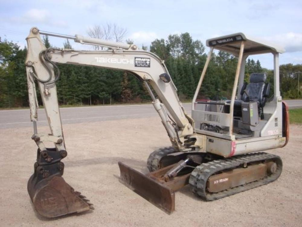Detail photo of 1995 Takeuchi TB025 from Construction Equipment Guide