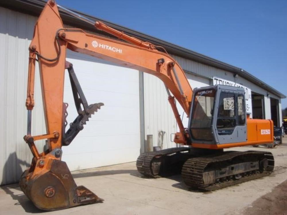 Detail photo of 1995 Hitachi EX150 from Construction Equipment Guide