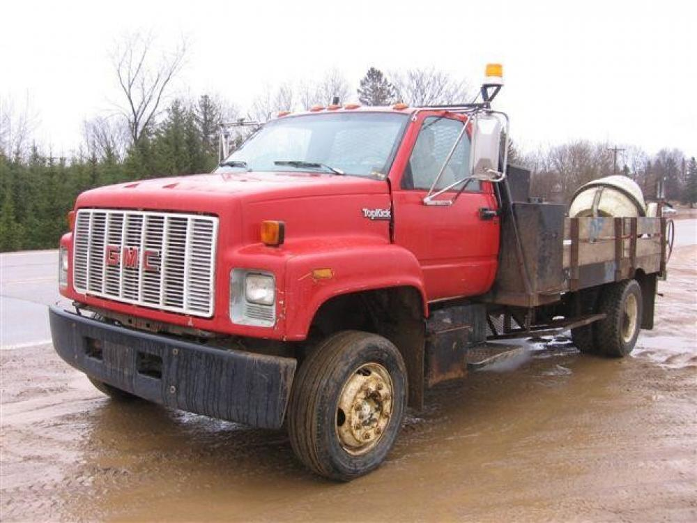 Detail photo of 1991 GMC TOPKICK C6500 from Construction Equipment Guide