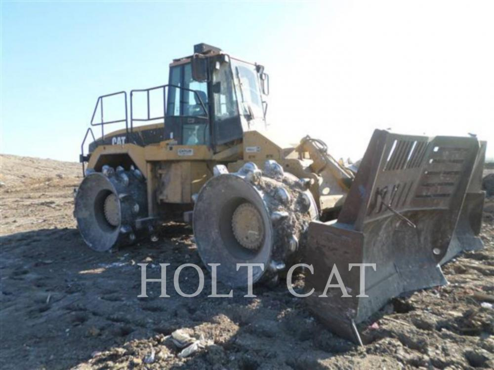 Detail photo of 2002 Caterpillar 826G from Construction Equipment Guide