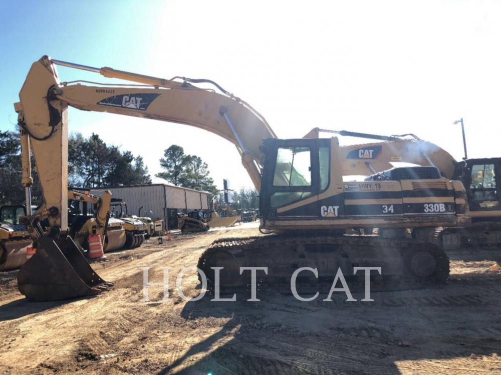 Detail photo of 2001 Caterpillar 330B from Construction Equipment Guide
