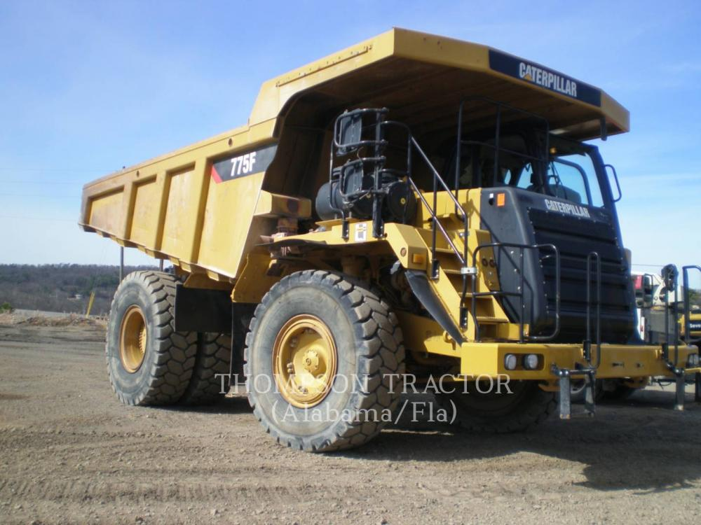 Detail photo of 2007 Caterpillar 775F from Construction Equipment Guide