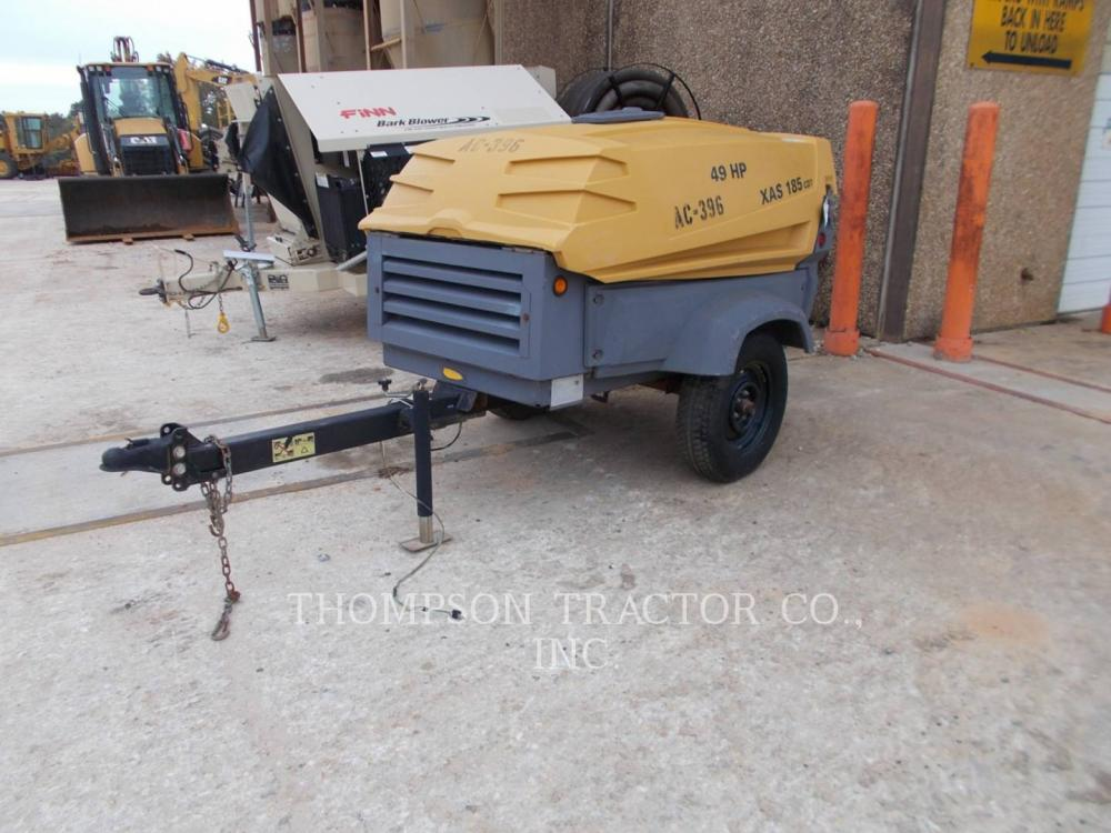 Detail photo of 2014 Atlas Copco 2014 ATLAS COPCO 185 CFM from Construction Equipment Guide