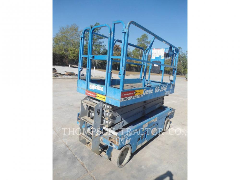 Detail photo of 2013 Genie 26 FT. WIDE SCISSOR LIFT from Construction Equipment Guide
