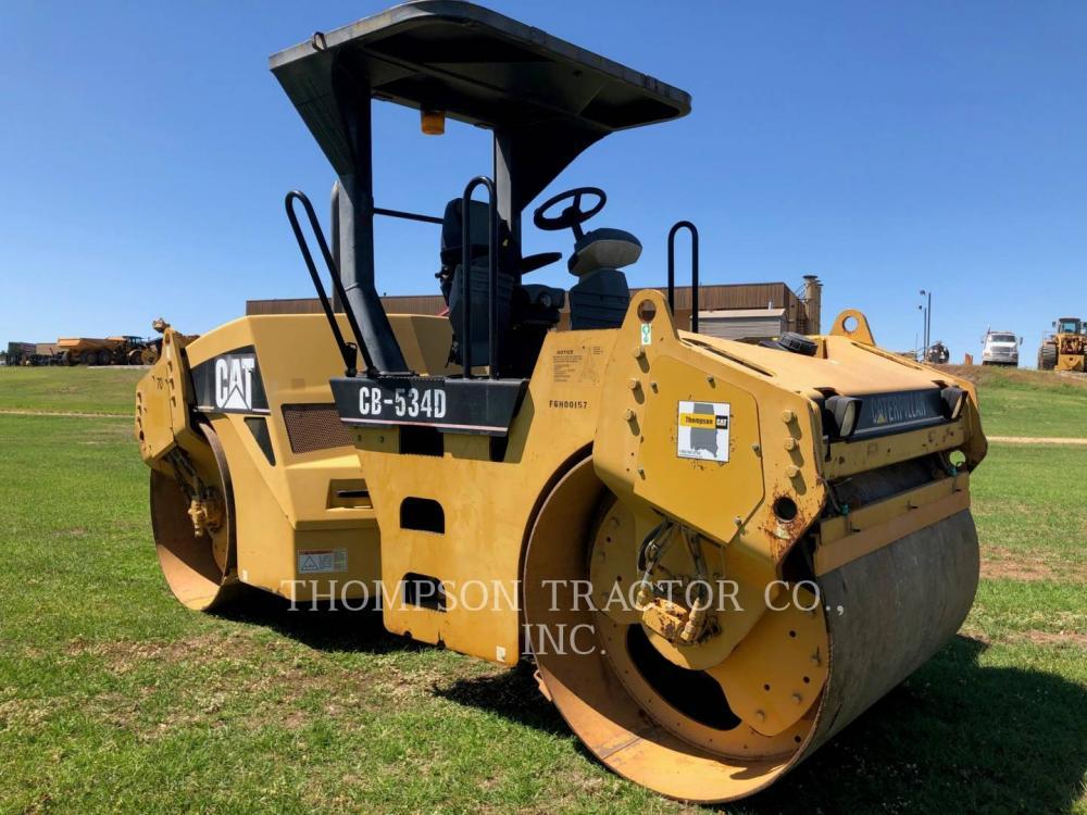 Detail photo of 2003 Caterpillar CB534D from Construction Equipment Guide