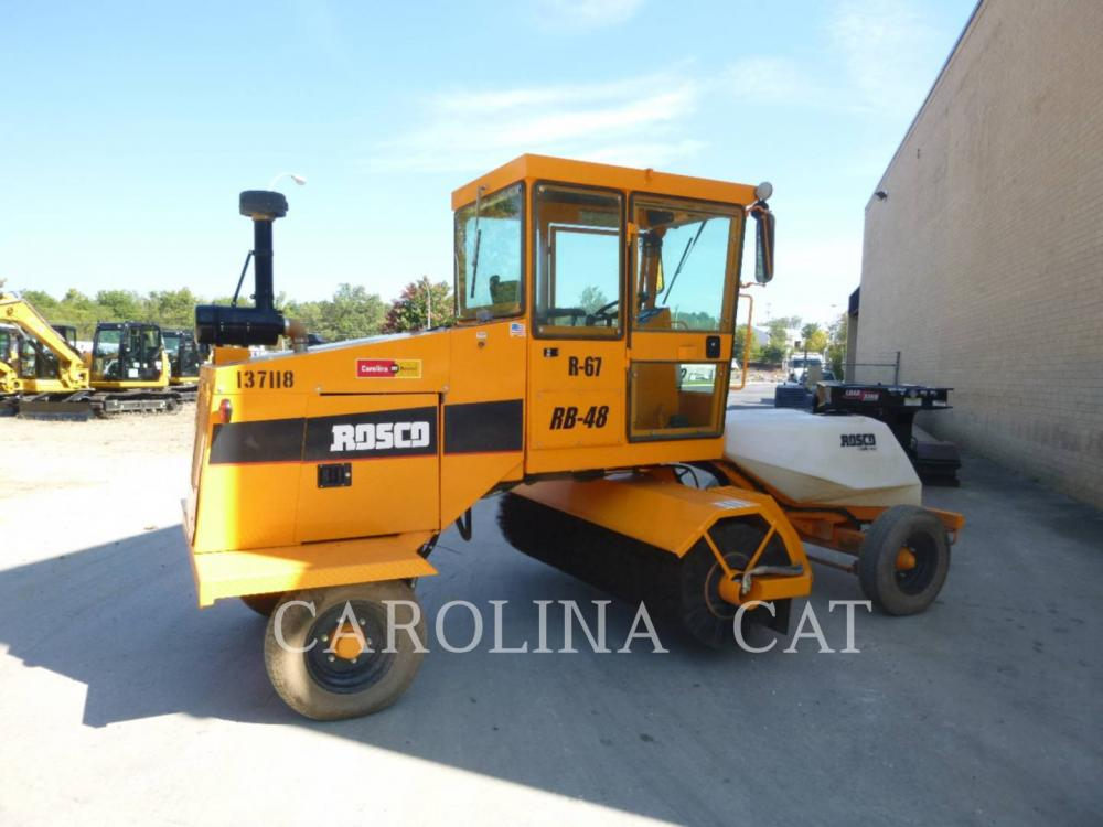 Detail photo of 2016 Rosco RB-48 from Construction Equipment Guide