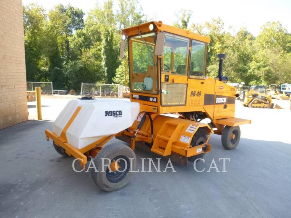 Detail photo of 2016 Rosco RB48 from Construction Equipment Guide