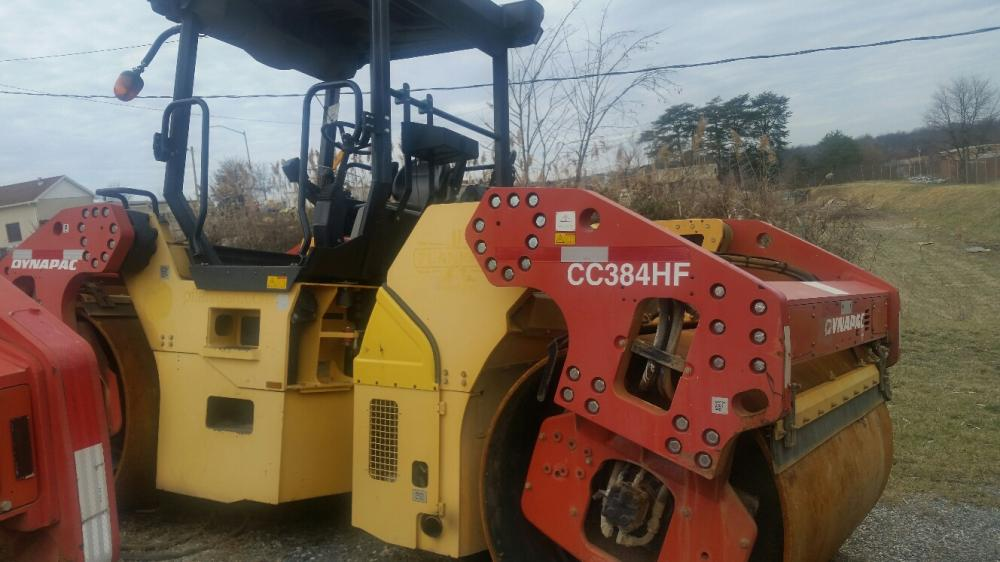 Detail photo of 2012 Dynapac CC384HF from Construction Equipment Guide