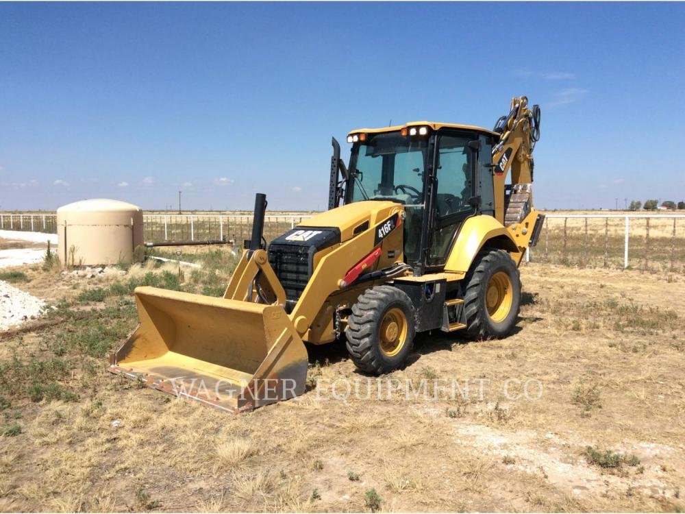 Detail photo of 2018 Caterpillar 416F2 4WDE from Construction Equipment Guide