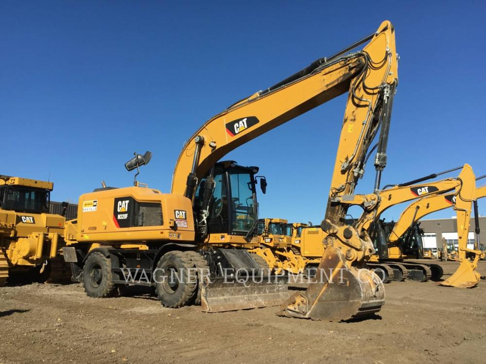 Detail photo of 2015 Caterpillar M320F from Construction Equipment Guide