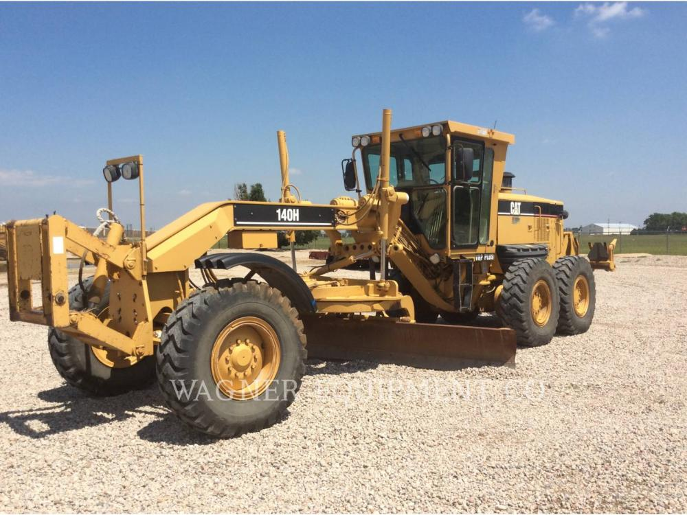 Detail photo of 2003 Caterpillar 140H from Construction Equipment Guide