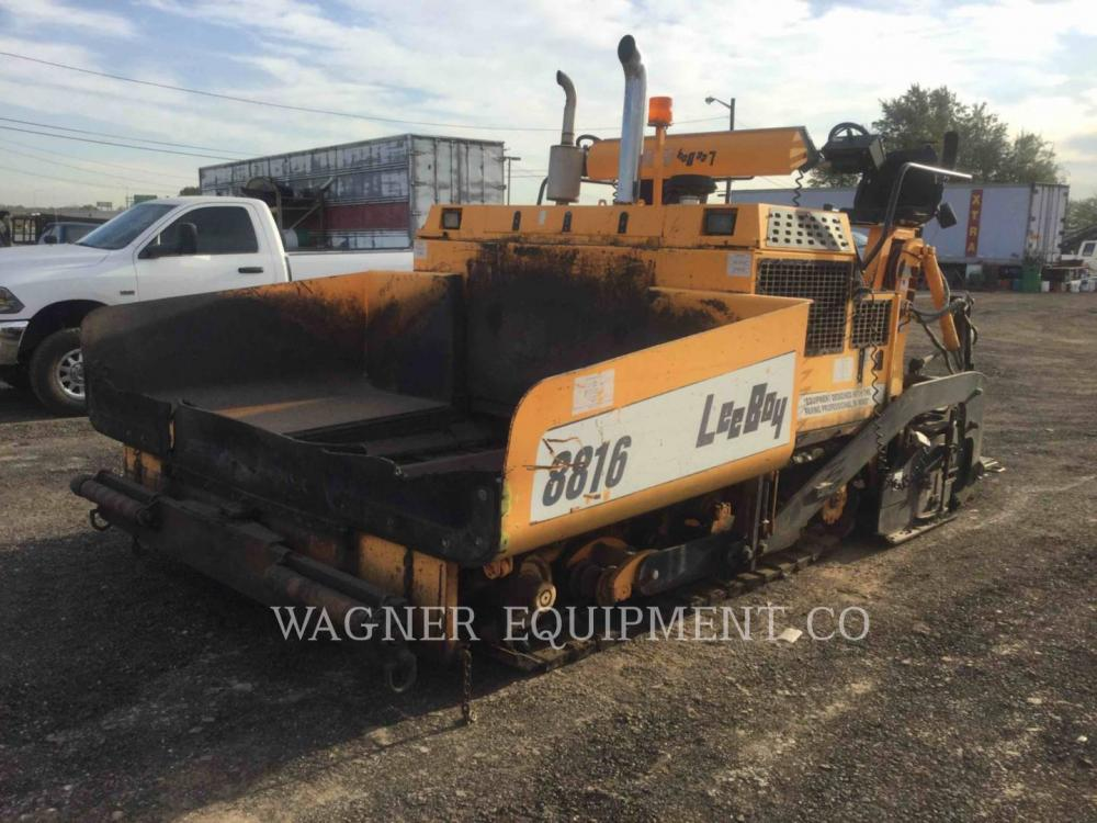 Detail photo of 2004 LeeBoy L8816 T from Construction Equipment Guide