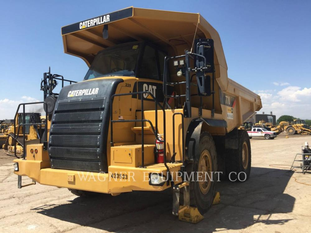 Detail photo of 2008 Caterpillar 770 from Construction Equipment Guide