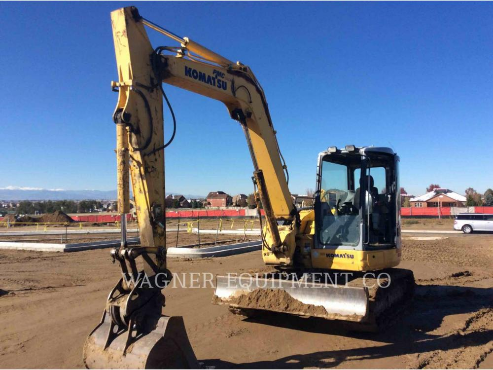 Detail photo of 2008 Komatsu PC78MR-6 from Construction Equipment Guide