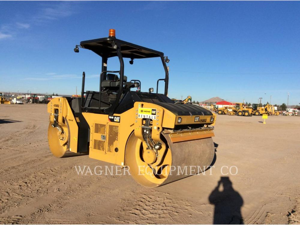 Detail photo of 2013 Caterpillar CB54B from Construction Equipment Guide