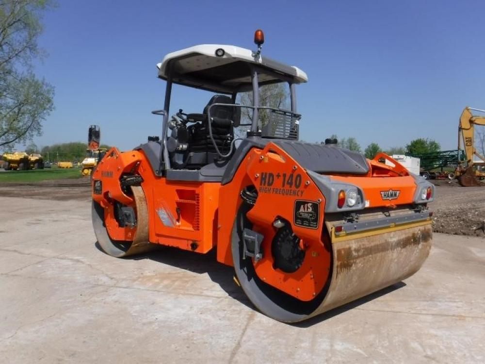 Detail photo of 2012 Hamm HD 140VVHF from Construction Equipment Guide