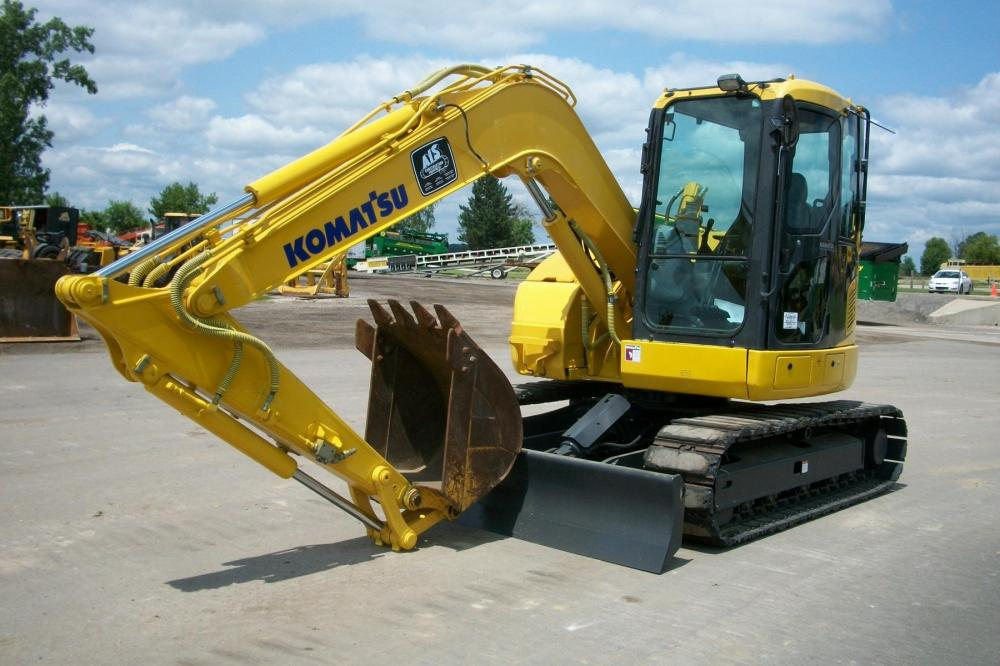 Detail photo of 2011 Komatsu PC78US-8 from Construction Equipment Guide