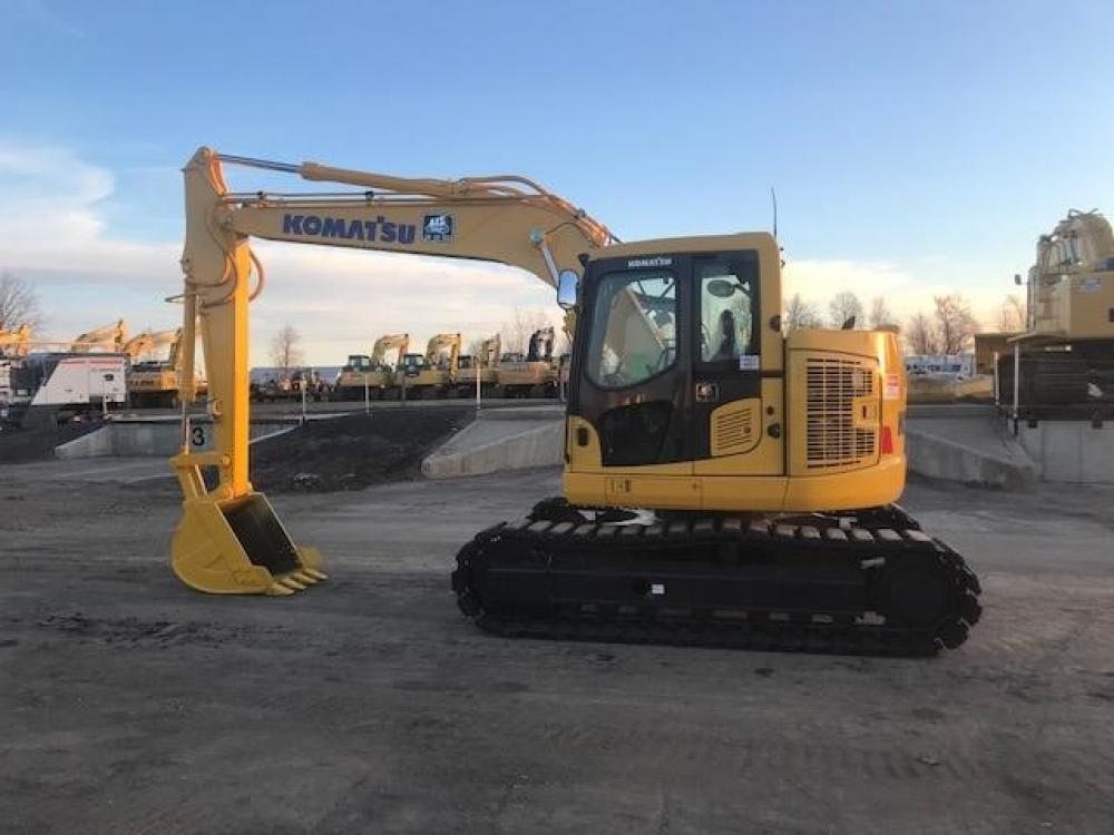 Detail photo of  Komatsu PC128US-10 from Construction Equipment Guide