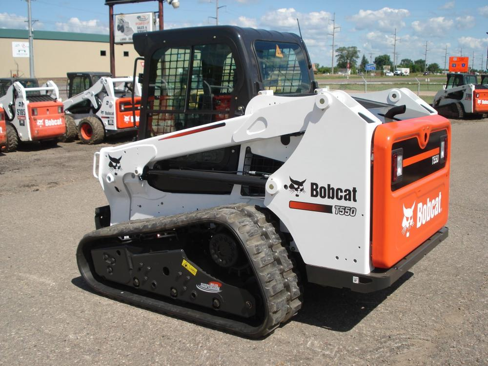 Detail photo of  Bobcat T550 from Construction Equipment Guide