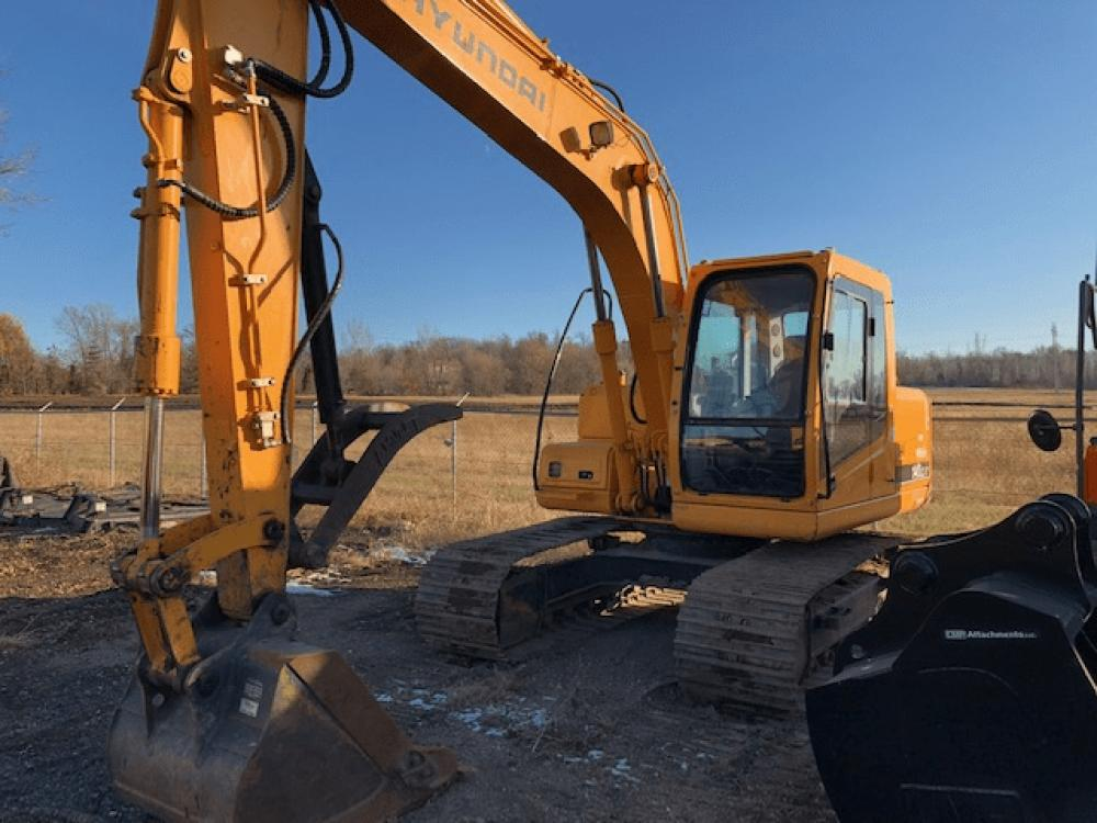 Detail photo of 2007 Hyundai ROBEX 140 LC-7 from Construction Equipment Guide
