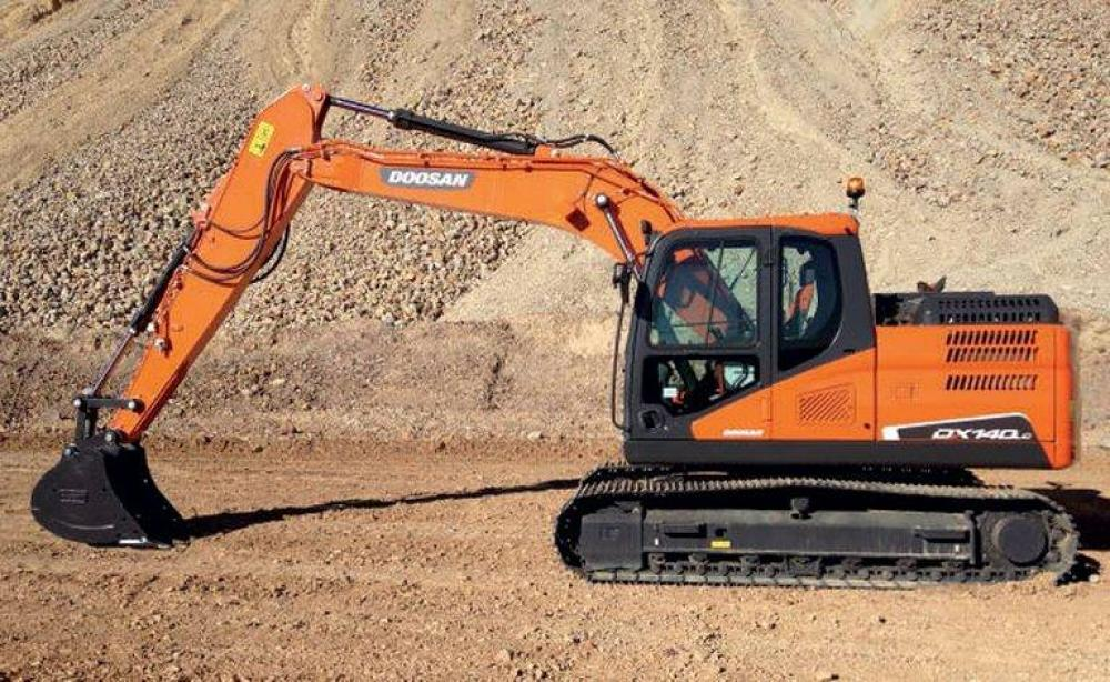 Detail photo of  Doosan DX140LC-5 from Construction Equipment Guide