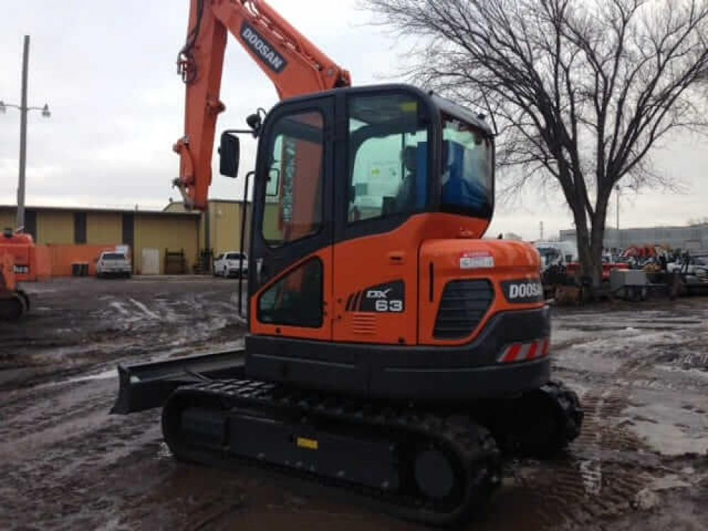 Detail photo of  Doosan DX63R-3 from Construction Equipment Guide