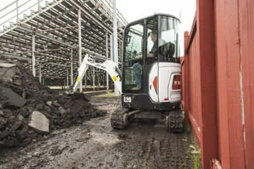 Detail photo of  Bobcat E20 from Construction Equipment Guide