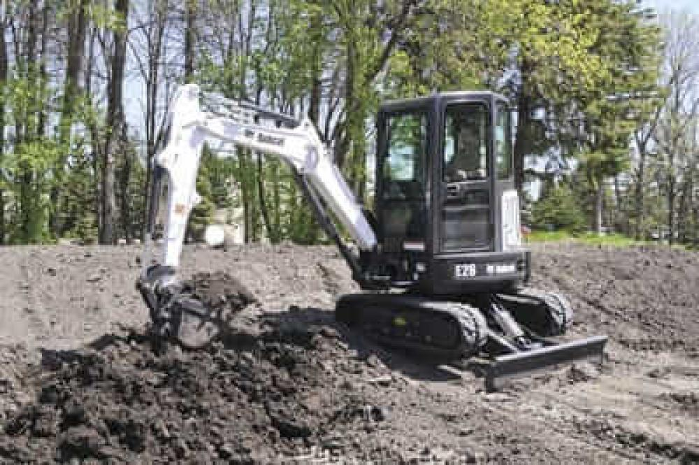 Detail photo of  Bobcat E26 from Construction Equipment Guide