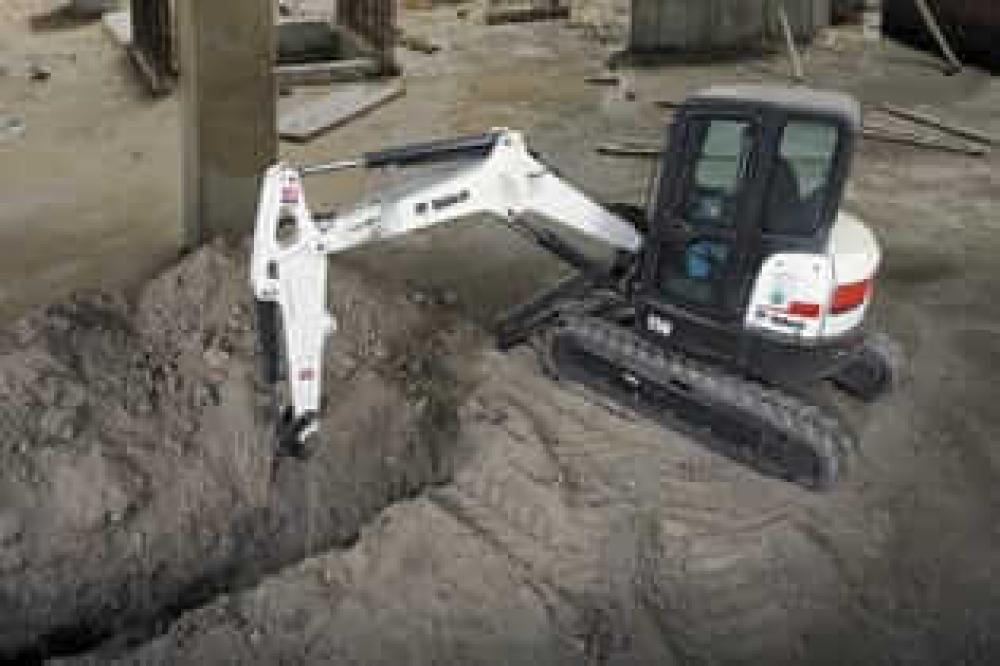 Detail photo of  Bobcat E50 from Construction Equipment Guide