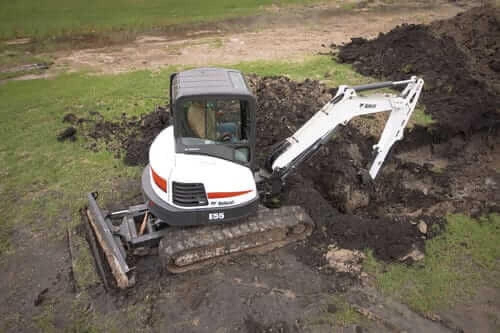 Detail photo of  Bobcat E55 from Construction Equipment Guide