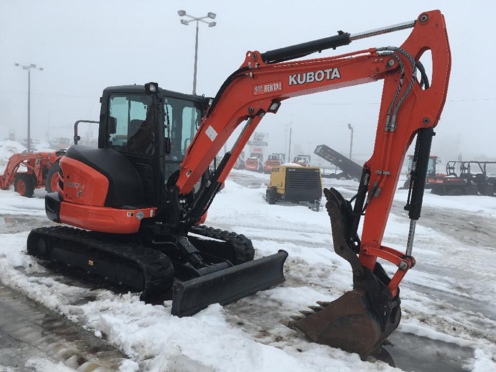 Detail photo of 2017 Kubota KX057 from Construction Equipment Guide