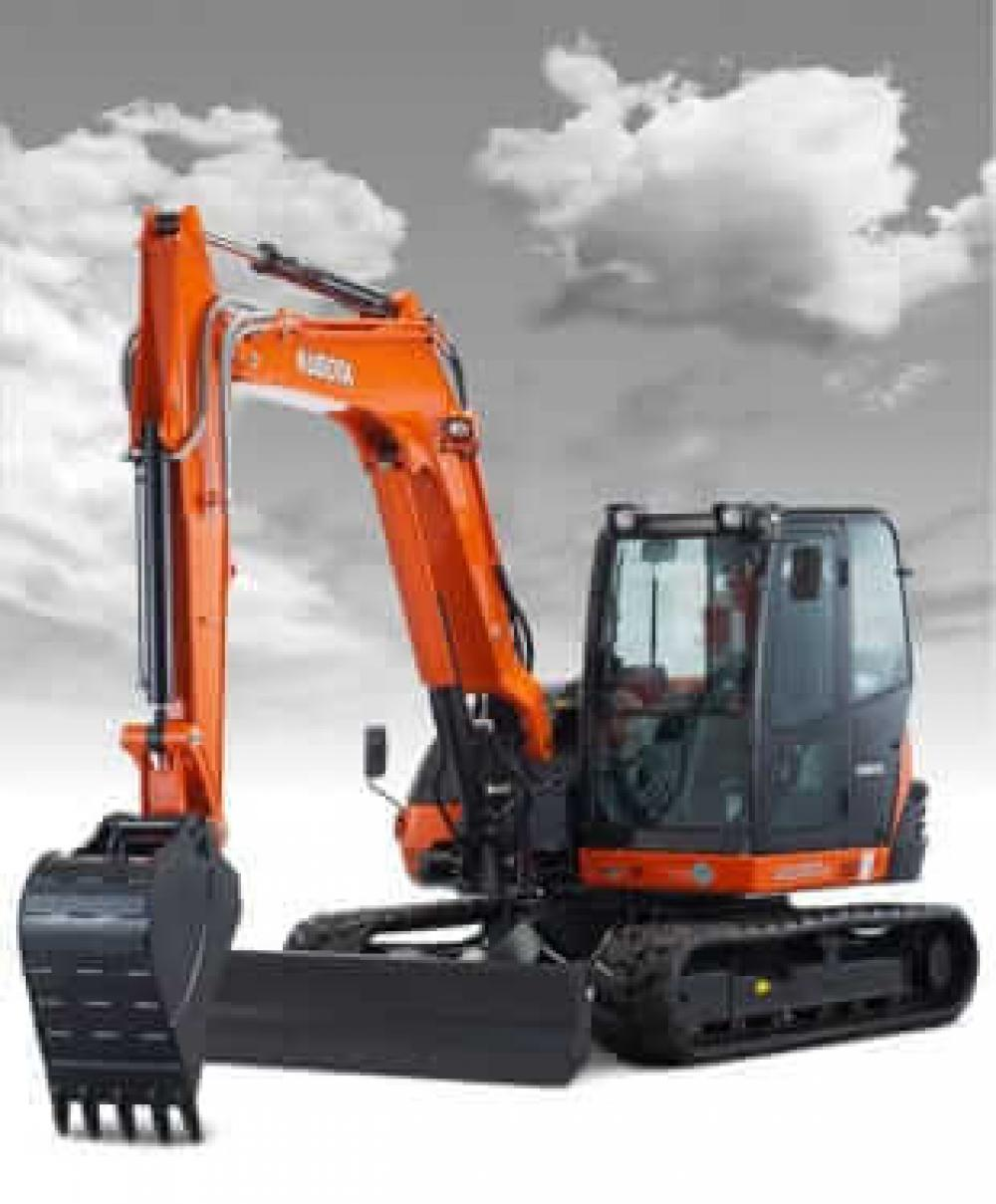 Detail photo of  Kubota KX080-4 from Construction Equipment Guide