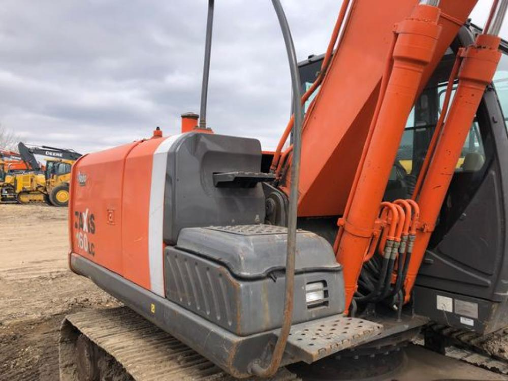 Detail photo of 2010 Hitachi ZX160LC-3 from Construction Equipment Guide