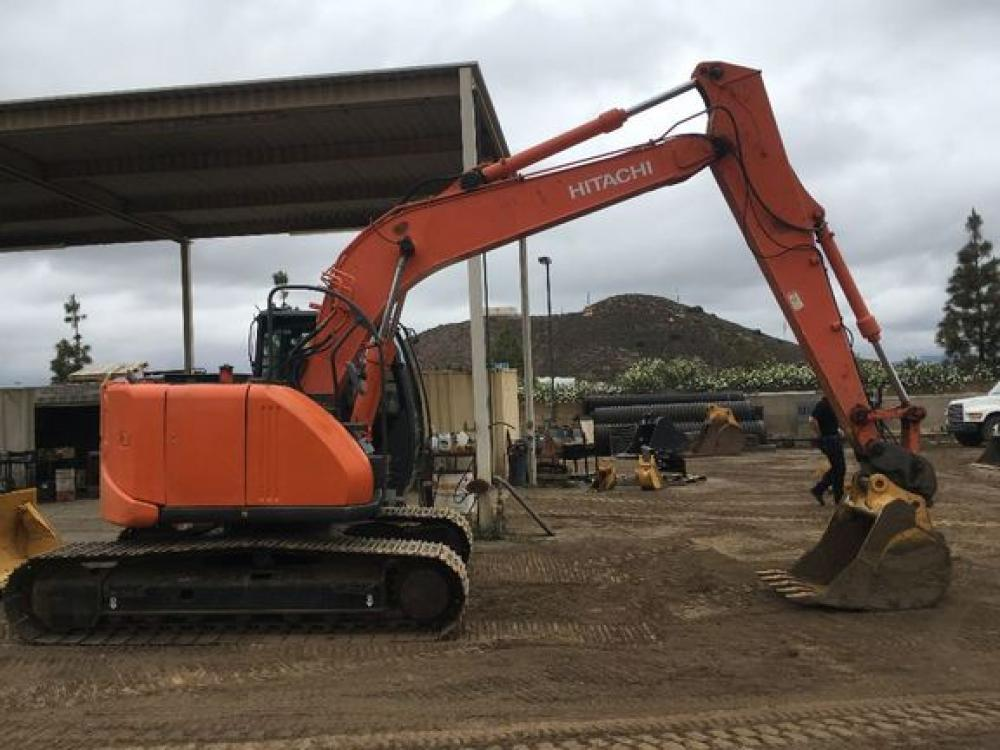 Detail photo of 2012 Hitachi ZX135US-3 from Construction Equipment Guide