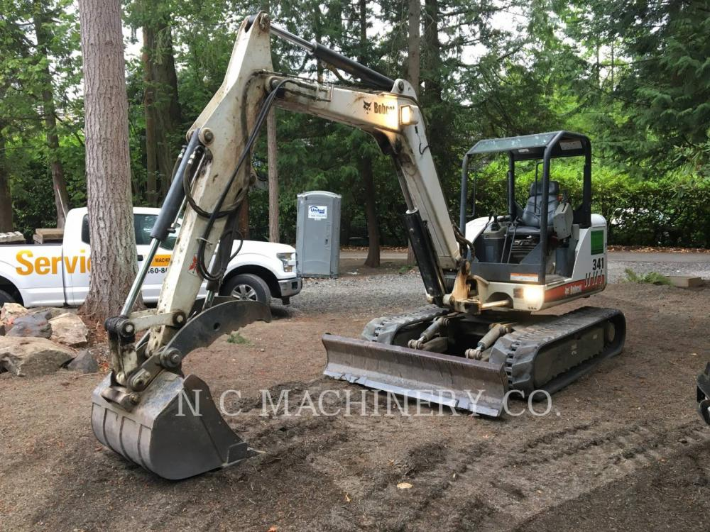 Detail photo of 2005 Bobcat 341G from Construction Equipment Guide