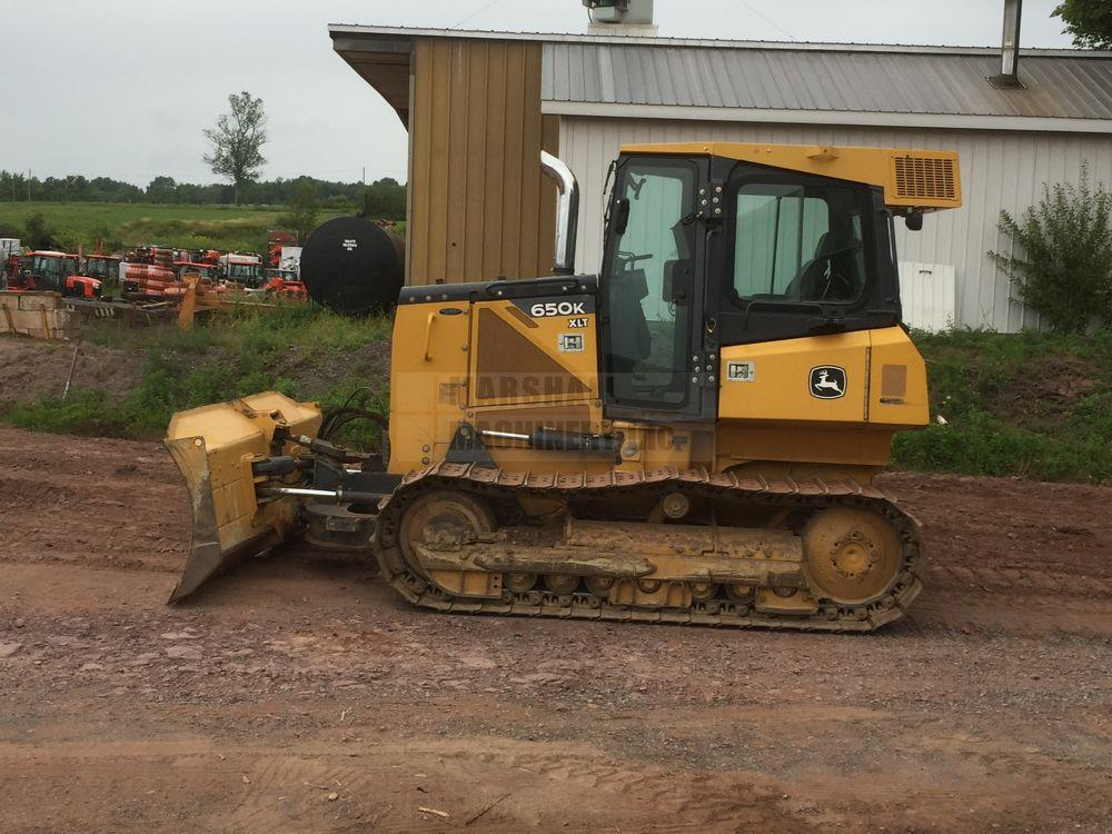 Detail photo of 2012 John Deere 650K XLT from Construction Equipment Guide