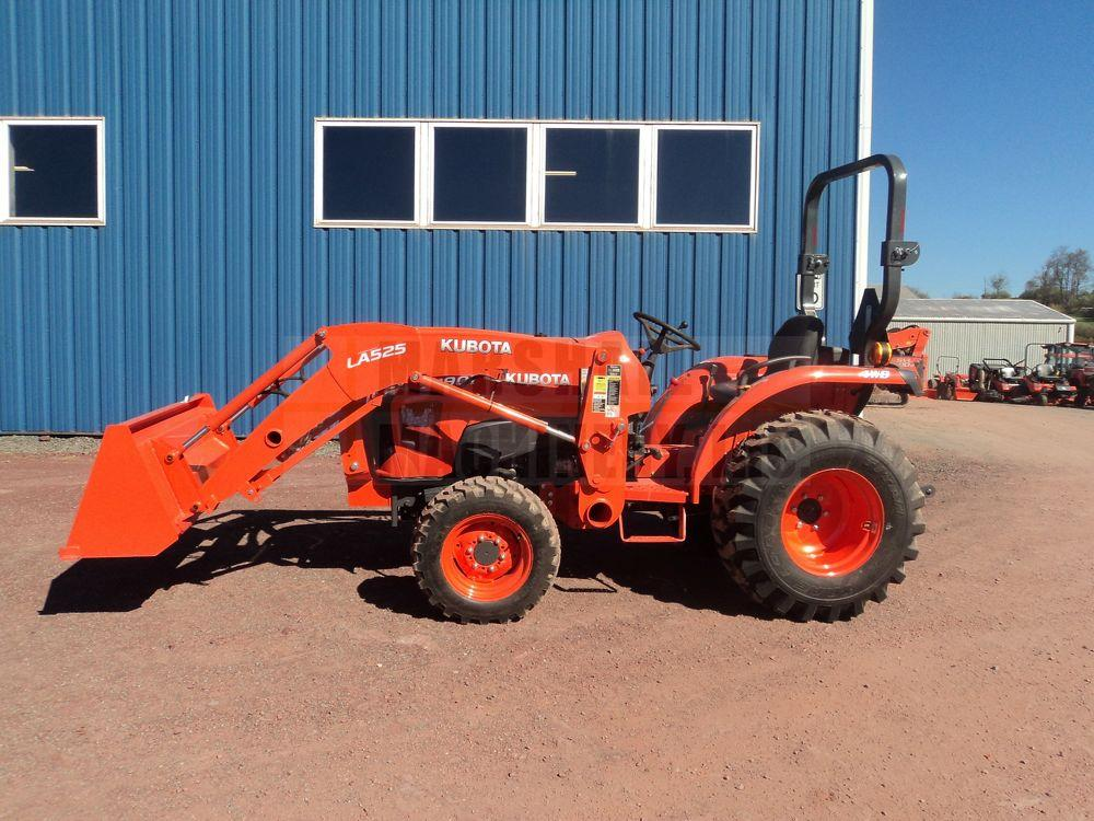 Detail photo of 0 Kubota L3901 from Construction Equipment Guide