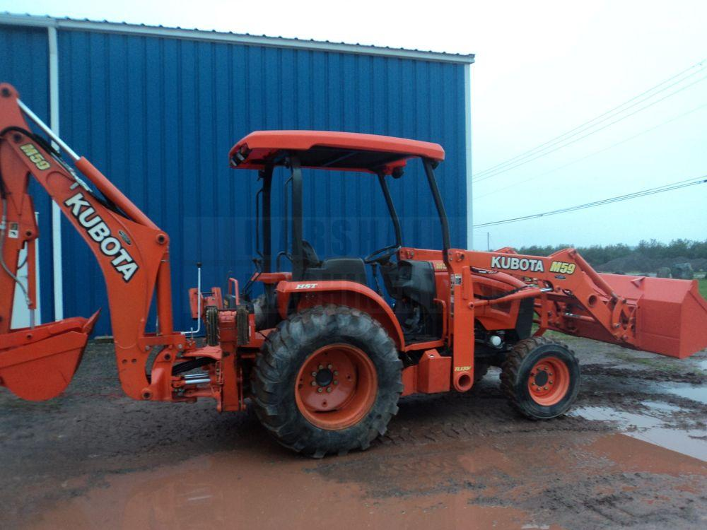 Detail photo of 2009 Kubota M59 from Construction Equipment Guide