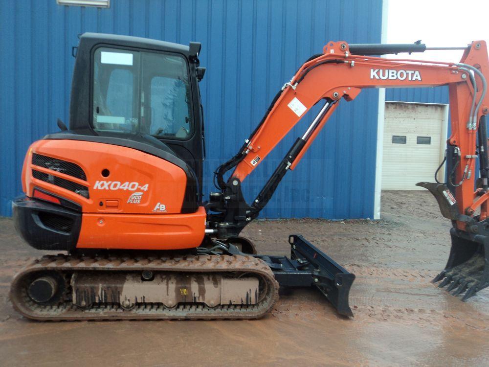 Detail photo of 2015 Kubota KX040 from Construction Equipment Guide